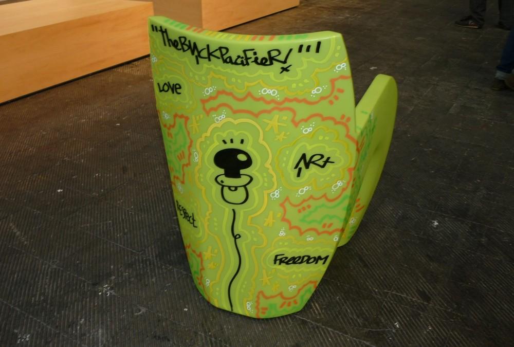 Concepta 'La Nuit' custom chair