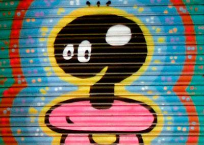 Barcelona urban art. 2015.