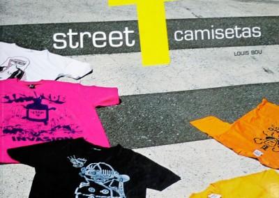 Street T camisetas. 2008.