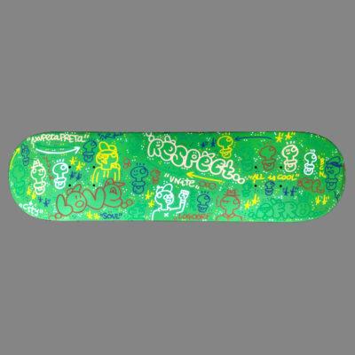 Art on Skateboard